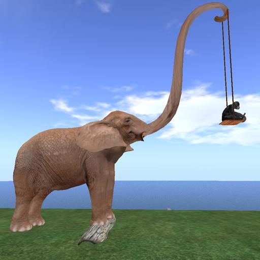 Elephant&Monkey